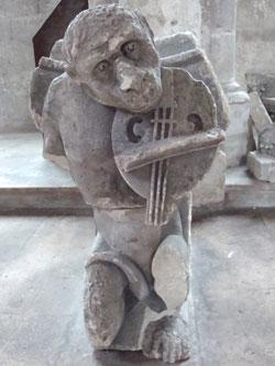Fiedler in Soissons